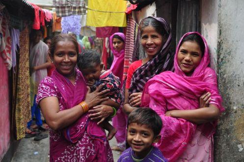 Colourful_ladies_Geneva_Camp_Dhaka